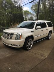 2009 Cadillac Escalade Esv White diamond